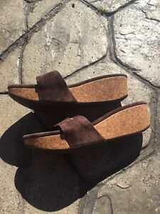 UGG suede sandals style 1768 size 6 | eBay