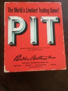 1959 Pit Card Trading Game Complete