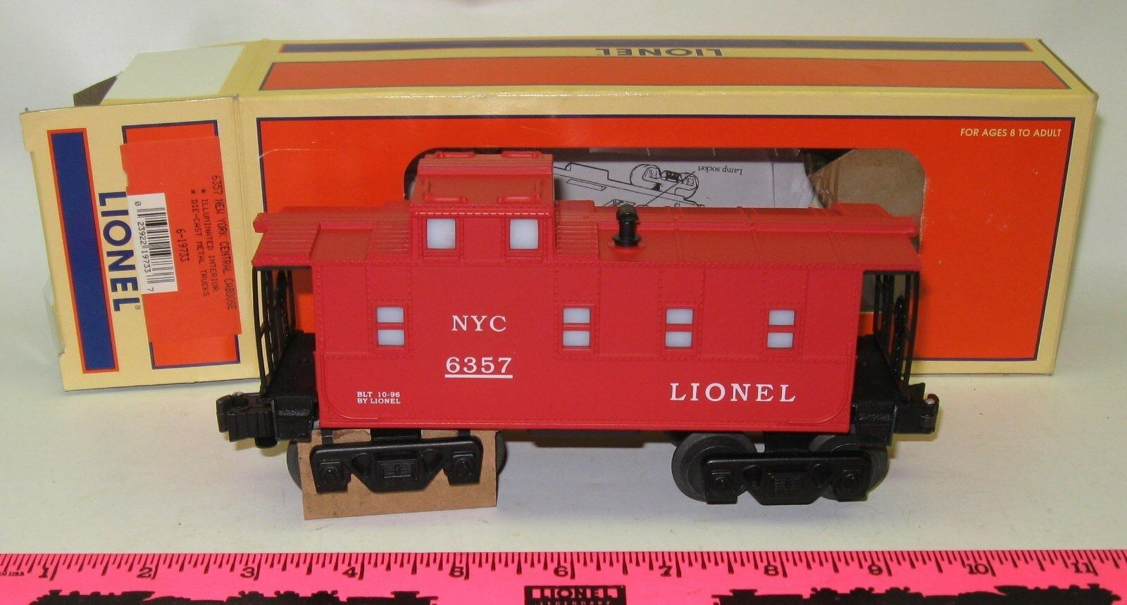 Lionel New in box 6357 New York Central Caboose 6-19733