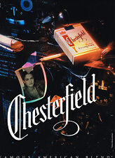 PUBLICITE ADVERTISING  1990   CHESTERFIELD   cigarettes