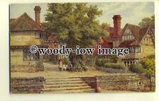 ar0240 - Leicester Square, Penshurst, *1429. Artist - A R Quinton - Postcard