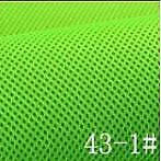 43 Grün Neon 160cm Breite 3mm Dicke Airmesh Nr