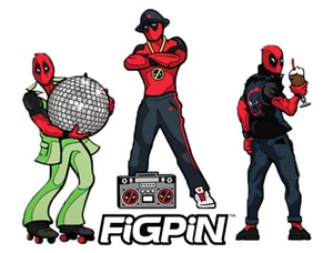 Figpin-Mini-Deadpool-50-039-s-70-039-s-80-039-s-Lot-of-3