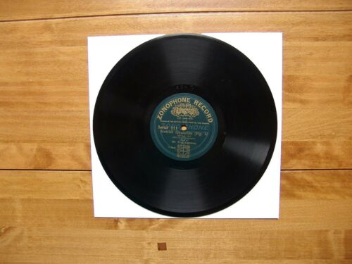 "10"" 78 Cameron, Fred ""Scottish Quadrilles Fig. 6"" Rights ZONOPHONE RECORD 311"