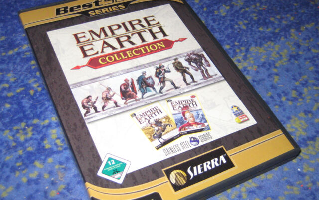 Empire Earth - Collection (PC) Platin Edition beide Teile Deutsch Klassiker neuw