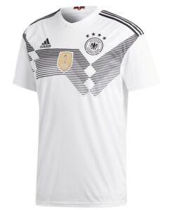Détails sur Adidas Allemagne DFB Coupe Du Monde Maillot Russie 2018 Nouveau Toutes Tailles