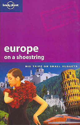 USED (VGC ) Lonely Planet Europe On A Shoestring by Sarah Johnstone