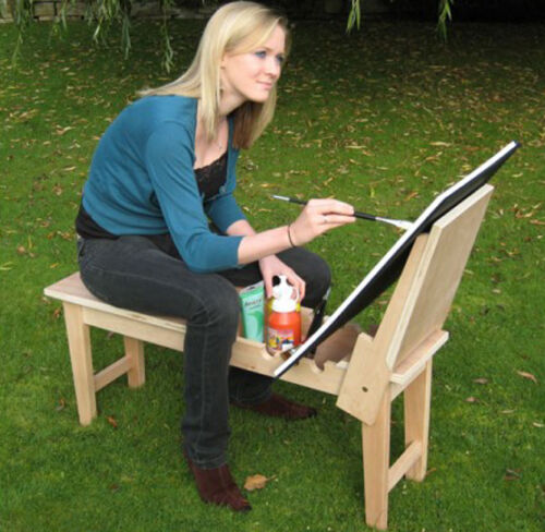 Traditional Artists Beechwood Wooden Donkey Easel