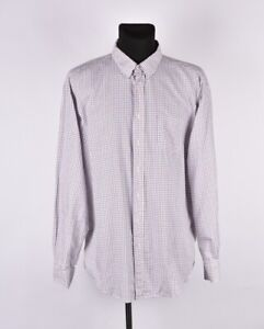 GANT-Manhattan-Twill-Regular-Fit-Men-Shirt-Size-2XL