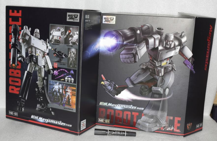 Weijiang MPP36 Masterpiece Robot megamaster Surdimensionné Megatron Enfants JOUET EAU Nouveau