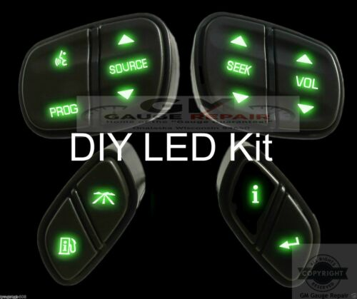 DIY bulb to LED Upgrade Kit for your Chevrolet Steering Wheel Switches//Controls