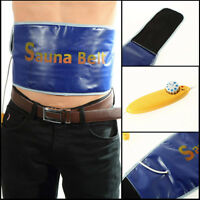 Sauna Belt Men Slimming Massage Belt Body Massager Weight Loss Belly Waist Trim