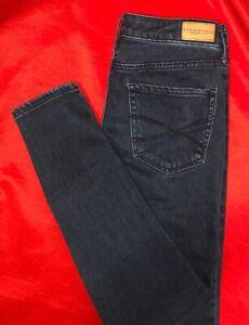 AEROPOSTALE-High-Waisted-Ankle-Jeggings-Denim-Blue-Jeans-Size-4