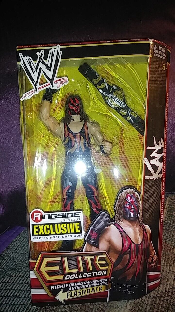 Wwe elite ringside exclusive hardcore kane