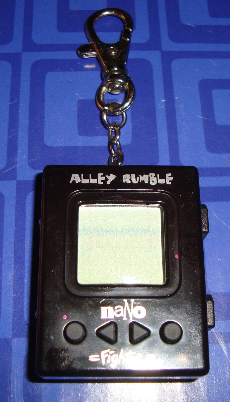 NaNo Alley Rumble Fighter Keychain Electronic Handheld Game Awesome Game