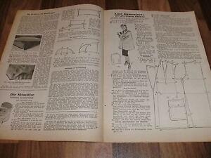ALLGEMEINE-SCHNEIDERZEITUNG-1-1948-Sportlicher-Reisemantel-mit-Rundgurt