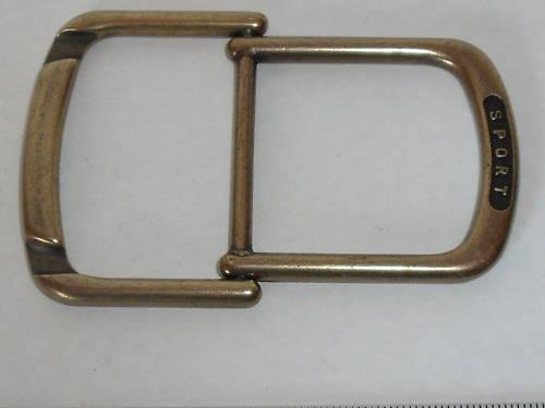 1 Boucle de ceinture gurtstopper 3,5 cm vieux laiton 07.39.1025