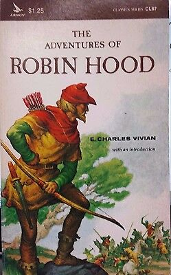 Robin Hood by E Charles Vivian FREE AUS POST good used condition paperback 1965