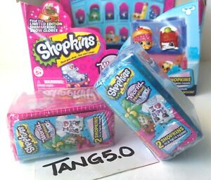 New-Shopkins-Season-8-World-Vacation-America-s-2-Mystery-Blind-2-Piece-Pack-Lot