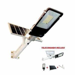 FARO-LED-CON-PANNELLO-SOLARE-KIT-STAFFA-INCLUSO-DIMMERABILE-DA-100W-SOLARE