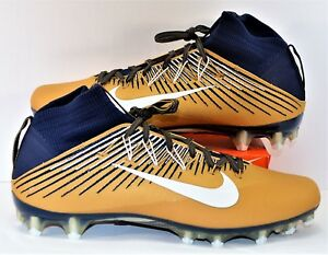 gold youth football cleats