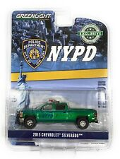 Greenlight 1//64 NYPD New York City Police 2015 Chevrolet Silverado Truck 30093