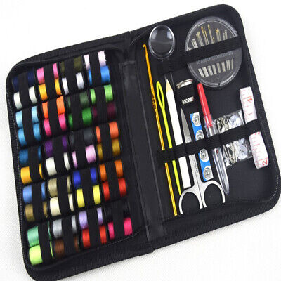 128pcs Home Travel Sewing Set Emergency Professional Portable Sewing Kit
