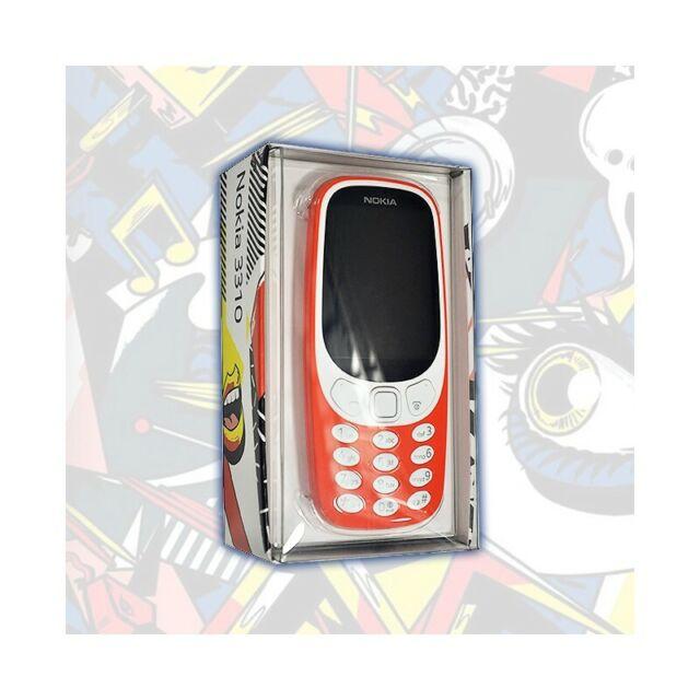 Nokia 3310 2017 Warm Rojo Nuevo Modelo a Colores 2G Octa Core Bluetooth Caja