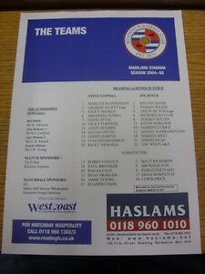 22-01-2005-Colour-Teamsheet-Reading-v-Ipswich-Town-Thanks-for-viewing-our-item