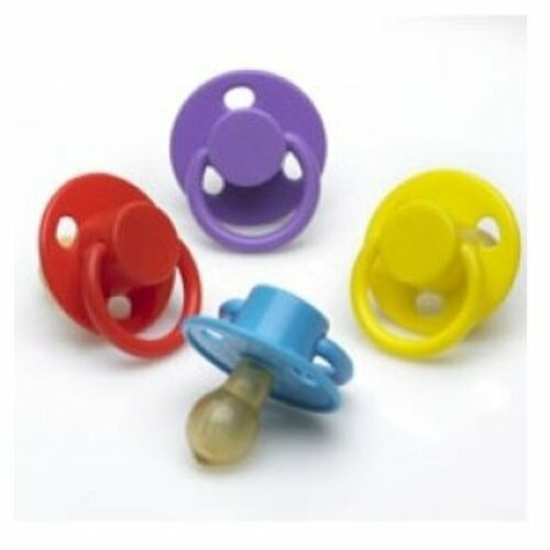 5 Colours BS EN1400 Latex Cherry Baby Soother Dummy Pacifier Little Wonders