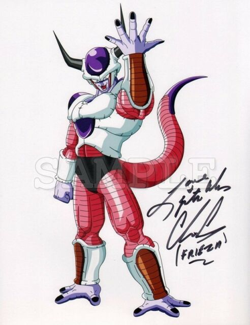 Details about Dragon Ball Z Frieza signed 8x10 Autograph Photo RP - Chris  Ayres - Free Shippin