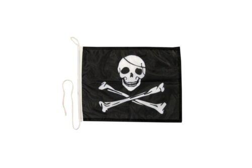 Pirat Bootsfahne Bootfahne Fahnen Flaggen fürs Boot 30x40cm
