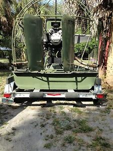 Airboat 13 Predator With Continental 220 Gpu Ebay