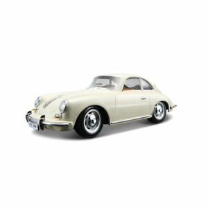 Bburago 22079 Porsche 356 B Coupe creme Maßstab 1:24 Modellauto NEU!°