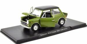 Innocenti Mini Cooper MK3 MKIII grün 1300 1972 Atlas LEO Fabbri SP 1:24