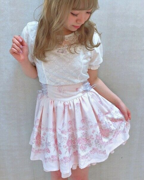 LIZ LISA - Lace puff Top ( japan sweet lolita kawaii )