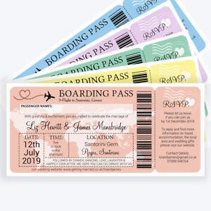 Boarding P Ticket Travel Overseas