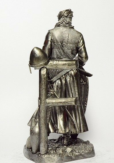 Tin Tin Tin soldier, figure. Knight Crusader 90 mm 5efaa9