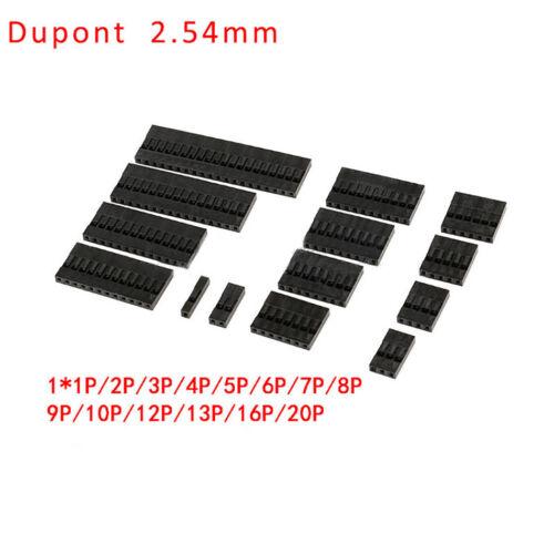 1P//2P//3P//4P//5P-20P Dupont Plastic Shell Housing//Crimp Pin Pitch 2.0mm //2.54mm