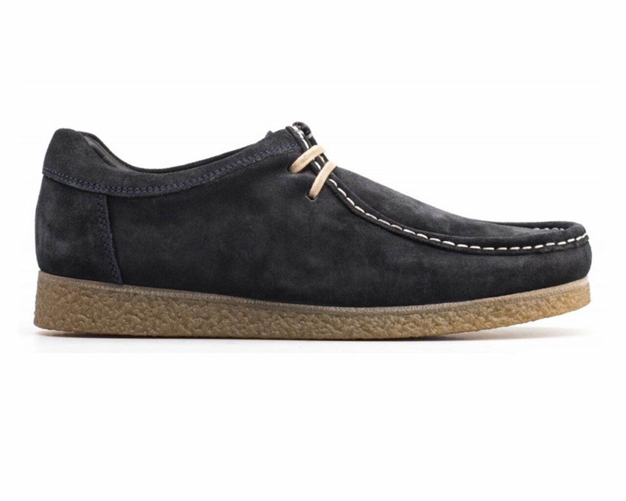 Base London GENESIS SUEDE RV01403 Wallaby Shoes Navy