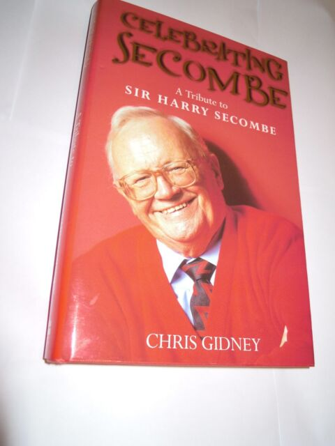 """""""Celebrating Secombe"""" Tribute to Sir Harry by Chris Gidney  2001 HarperCollins"""
