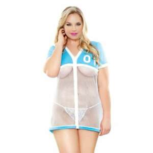 Fantasy-Lingerie-Curve-Sports-Babe-Jersey-Uniform-Plus-Size