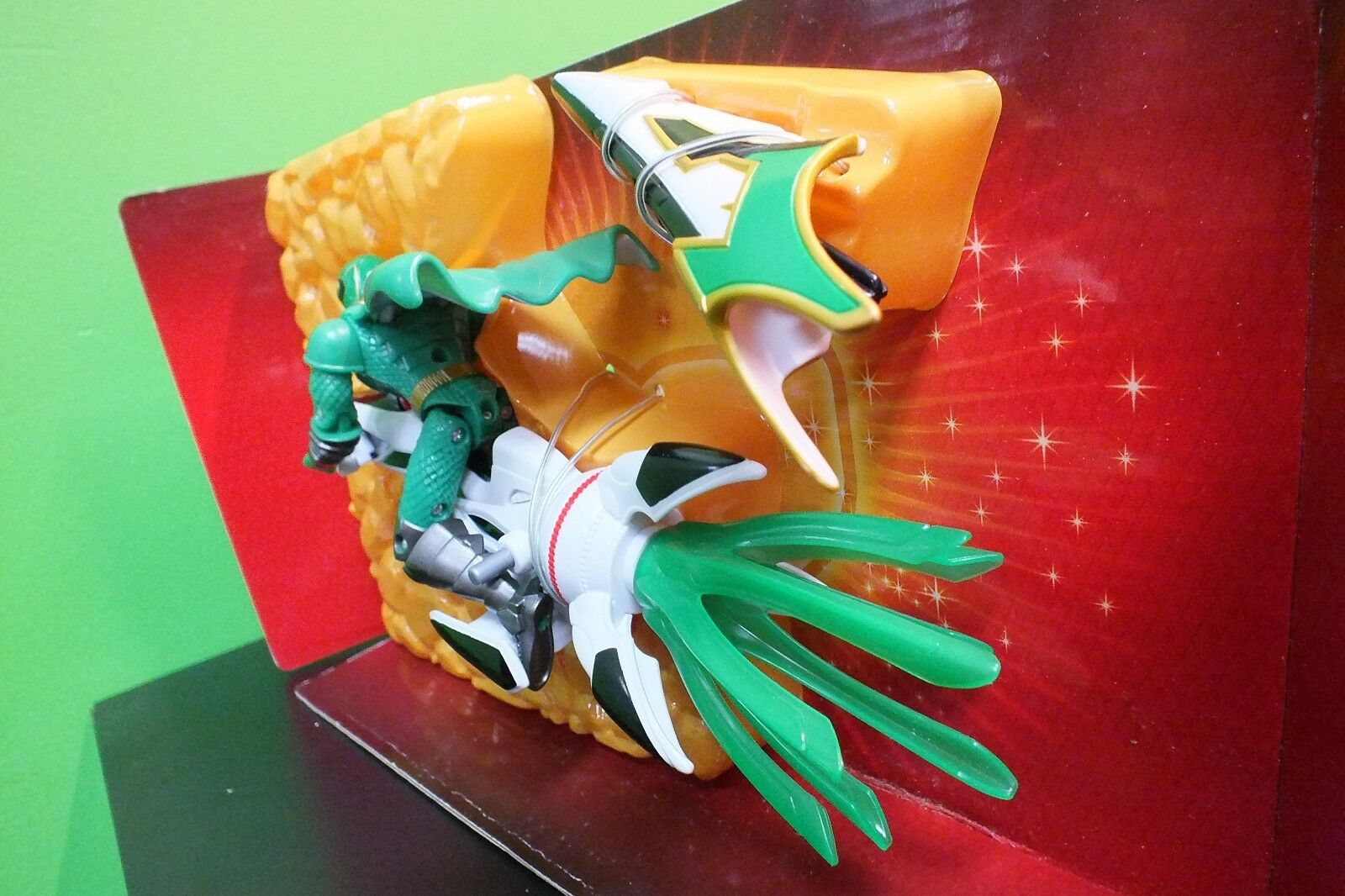 Power Rangers Mystic Force  Grün Ranger with FREE Mystic Rider , FREE with SHIPPING 6673a1