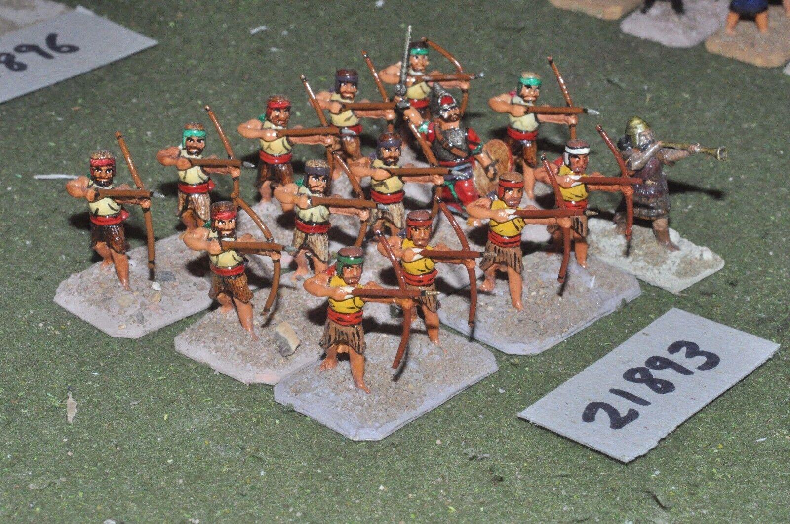 25mm biblical   assyrian - archers 15 figures infantry - inf (21893)