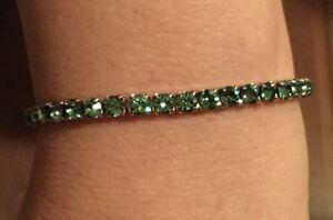 Swarovski-Elements-Green-Bracelet