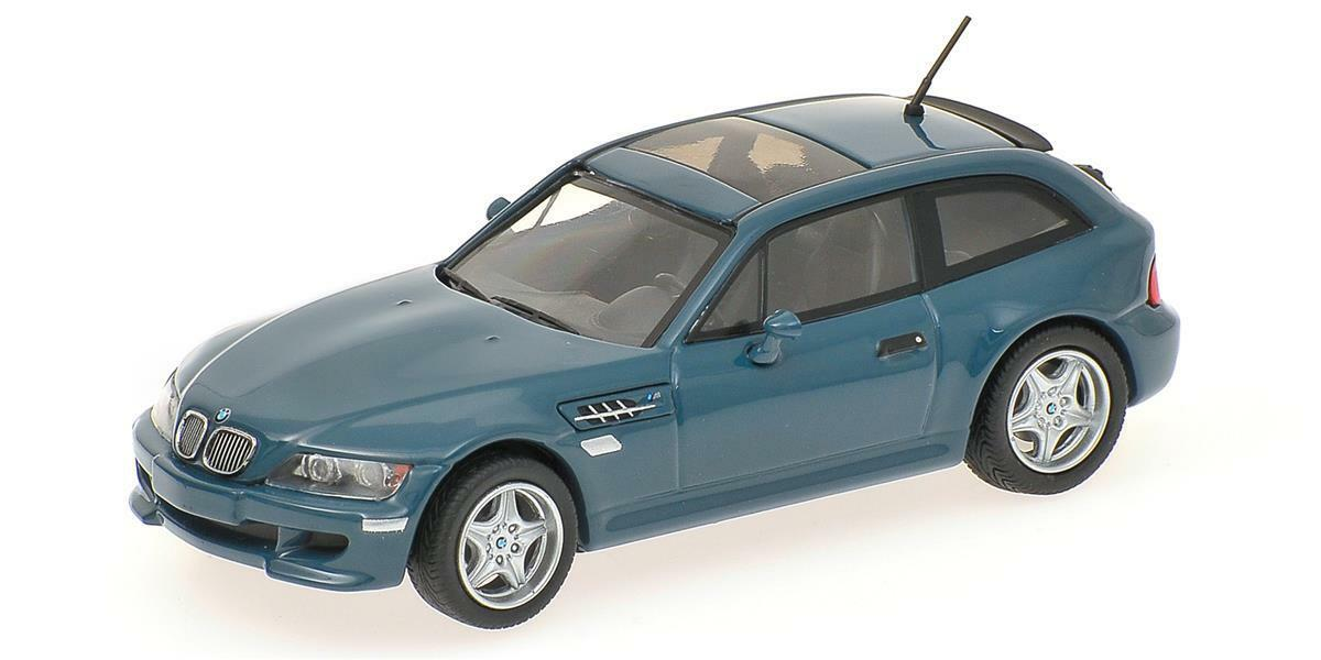Minichamps 400029061 BMW M Coupe 2002, blu scala  1 43