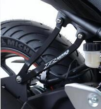R&G RACING BLACK EXHAUST HANGER for YAMAHA YZF-R3, 2015 to 2017