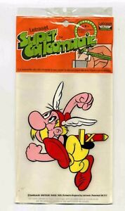 Astérix Décalco Ed. Dargaud 1974 sous plastique d'origine Comme neuf