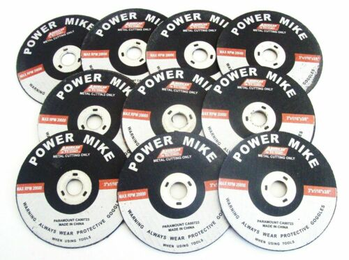 """20 ATE PRO POWER MIKE 3/"""" AIR CUT-OFF WHEELS DISC 1//16/"""" THICK METAL CUTTING 40146"""