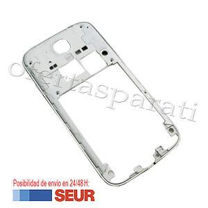 Repuesto-Chasis-Trasero-con-Marco-para-Samsung-Galaxy-S4-I9500-I9505-Blanco